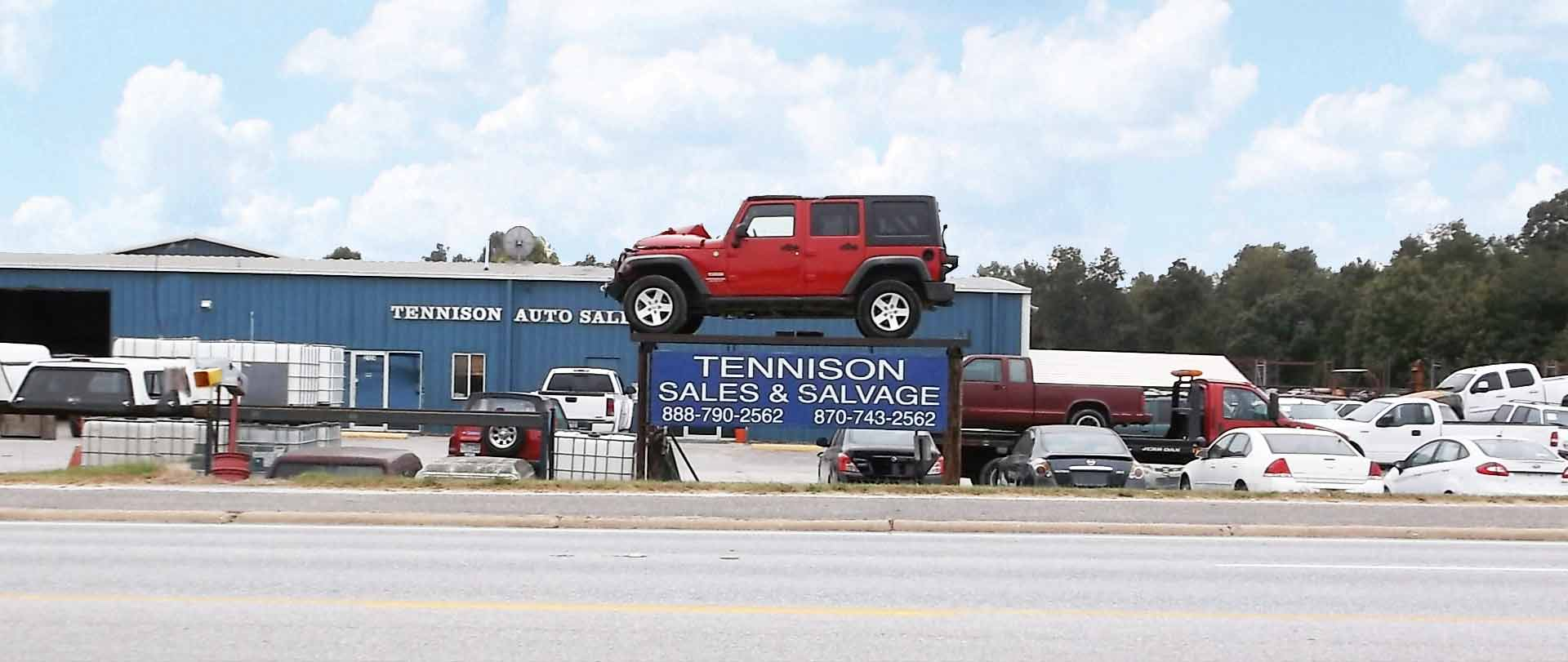 Auto Salvage Harrison Arkansas Tennison Auto Sales